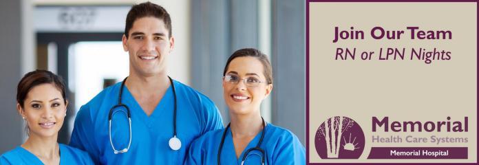 Employment | Memorial Health Care Systems | Milford, Seward